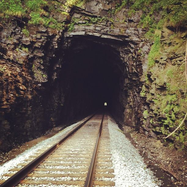 Train Tunnel 2, end of the line