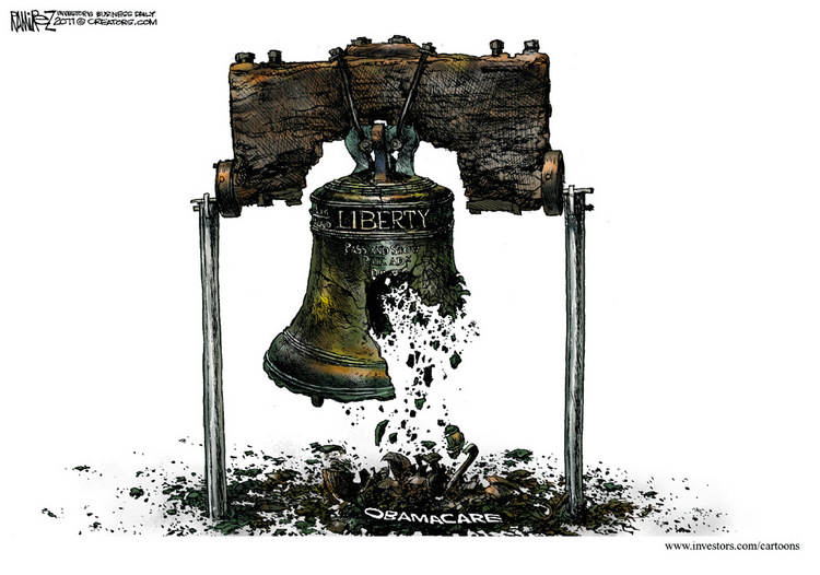 Healthcare - liberty_bell_crumbling_from_obamacare