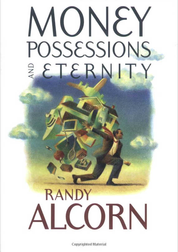 Money Possessions and Eternity Cover