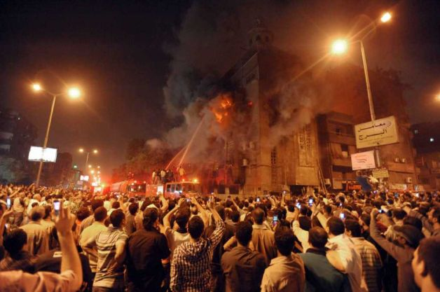 Egypt burning churches2