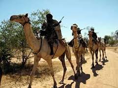 Janjaweed on Camels