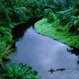 The Kibali River in the Congo