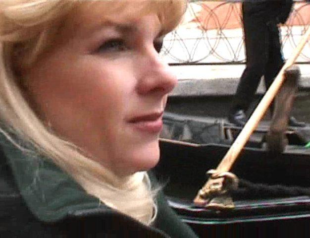 Gwen in Venice